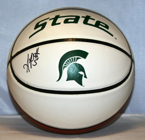Adreian-Payne-Michigan-State-Spartans-NCAA-Autographed-Basketball-AP-5