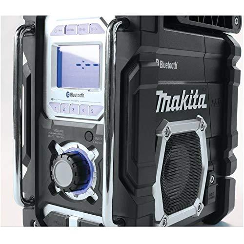 Makita XRM04B-R 18V LXT Cordless Lithium-Ion Bluetooth FM/AM Job Site Radio (Bare Tool) (Renewed) by Makita (Image #5)