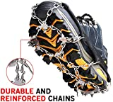 Ice Cleats Crampons Traction Snow Grips for Boots Shoes...