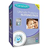 Health & Personal Care : Lansinoh Ultimate Protection Nursing Pads, 50 Count, Day or Nighttime (2 Pack)
