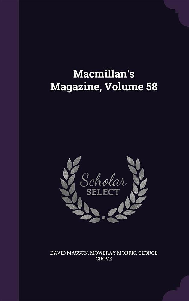 Read Online MacMillan's Magazine, Volume 58 pdf epub