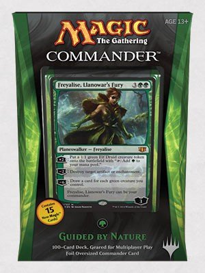 Amazoncom Magic The Gathering Commander 2014 Guided By Nature Deck