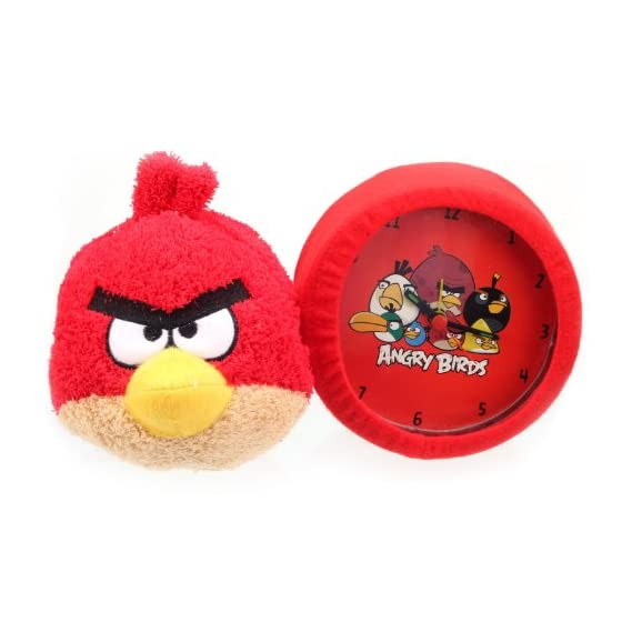 Angry Birds Bird Clock, Red