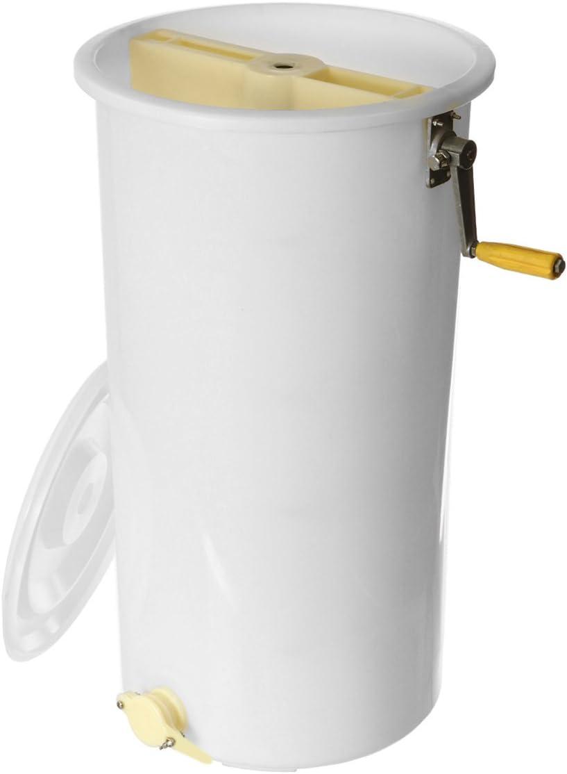 Vivona Hand Tools - Honey Extractor Plastic 2 Frame Manual Spinner Beekeeping Tool Spinner Bucket