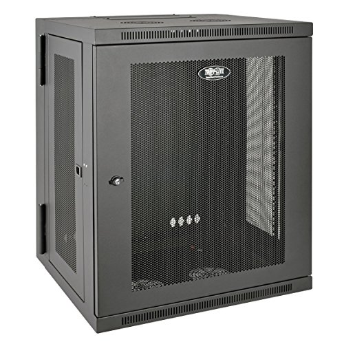 Tripp Lite 15U Wall Mount Rack Enclosure Server Cabinet, Hinged, 20.5
