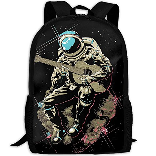 Outdoor Travel Backpack Bags - Unisex Fashion Astronaut Should Bag Handbag School Bag Backpack by RONIKA ARCENEAUXS