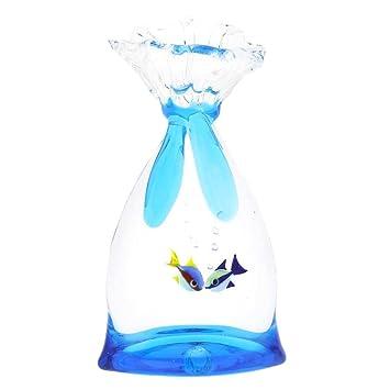GlassOfVenice - Bolsa de cristal de Murano para acuario con dos peces tropicales: Amazon.es: Oficina y papelería