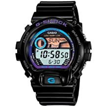 Casio Men's G-Shock GLX6900-1 Black Resin Quartz Watch with Digital Dial