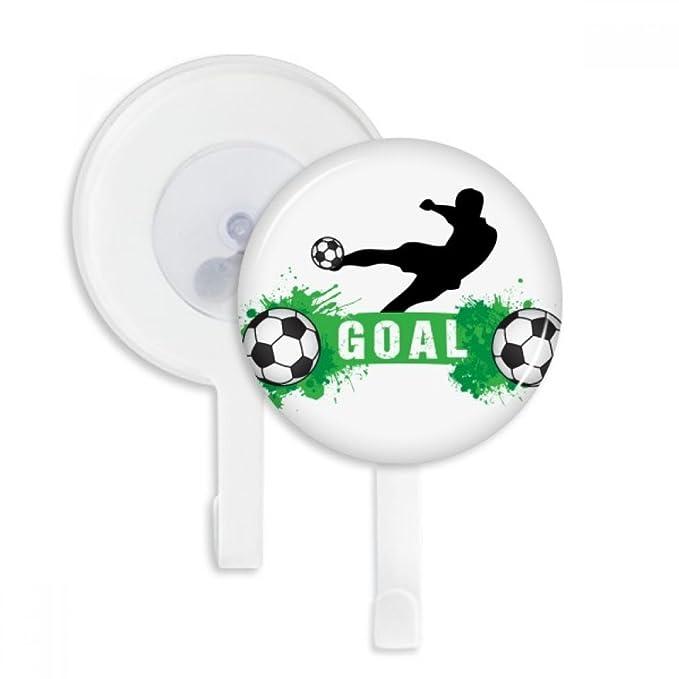 Penalty Kick - Ganchos de Ventosa para Baño, Cocina, 5 Unidades ...