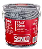 """Senco 07A200P Duraspin#7 by 2"""" Drywall to Wood"""