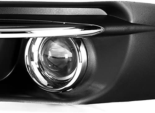Right w//Accessories For 2011-2014 Chrysler 200 Model Bumper Fog Lights 2Pcs Left