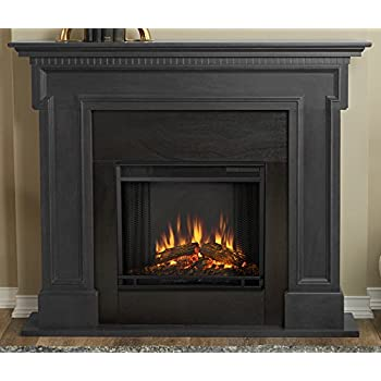 Amazon Com Real Flame 5010e Thayer Electric Fireplace In Gray Home