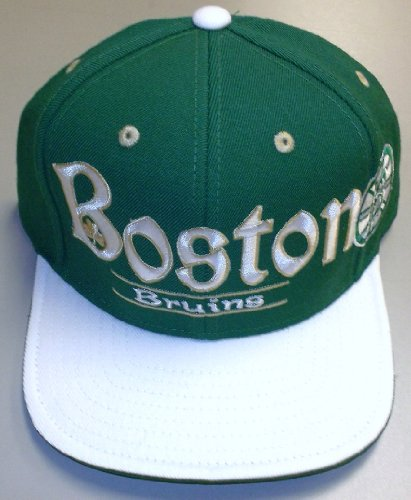 Reebok Boston Bruins St. Patrick's Day Snapback Hat