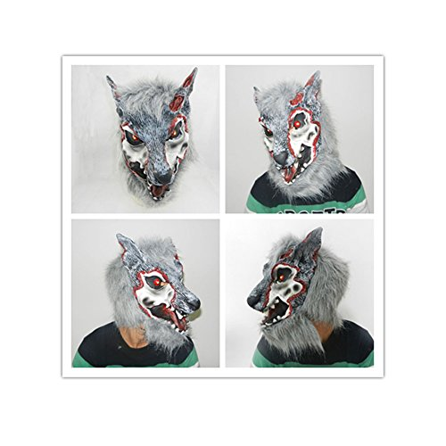 Halloween Party and Family Games and Stage Drama (Glue On Latex Halloween Masks)