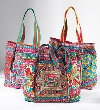 India Embroidered Ari Large Shoulder Bag: Amazon.co.uk: Clothing