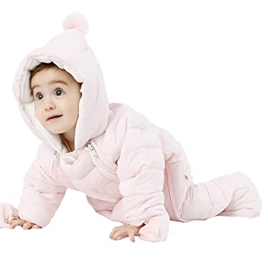 39112c5fa Amazon.com  Fairy Baby Toddler Boys Girls Winter Thick Outwear ...