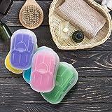 5 Boxes (250 Sheets) Mini Portable Travel Soap