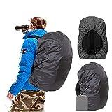 Joy Walker Backpack Rain Cover Waterproof Breathable Suitable Hiking/Camping /Traveling (black, Small (15-30L backpack))