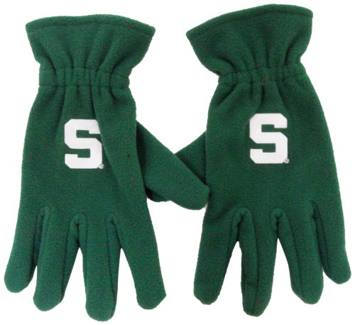 NCAA Michigan State Spartans Men's Fleece Gloves