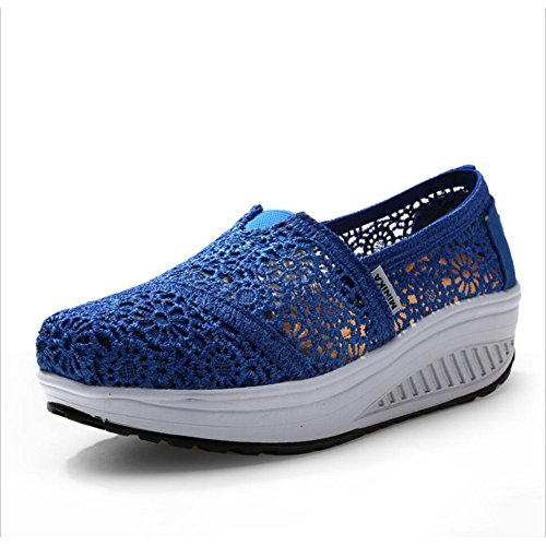Shake Size Athletic Slip XUE Shoes C Spring Shoes amp; Driving Loafers Shoes Shoes Shoes Color Fitness Fall Women's Shake Shaking Flat Sneakers Ons 37 Canvas Shoes Shoes E Platform Loafers 00qrpw71