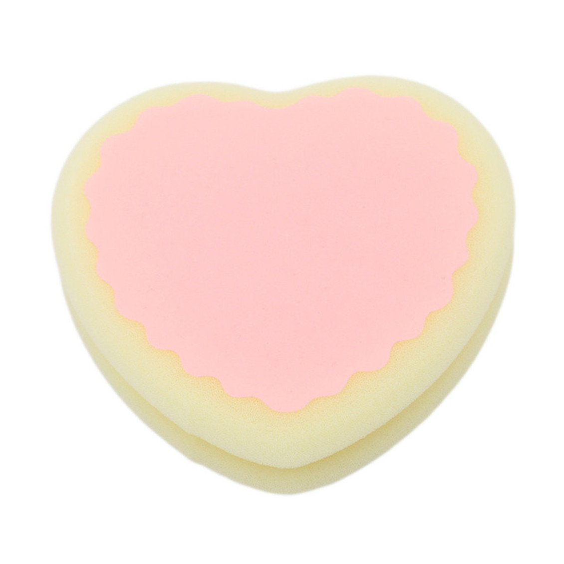 Dolland Magic Painless Hair Removal Depilation Sponge Pad Remove Hair Remover,Yellow Love9.5*10*2.5cm