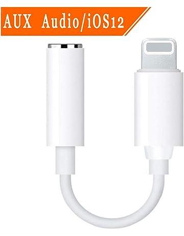 7decefe347f DAEETO Adaptador de Conector de Auriculares 3.5mm Adaptador de Auriculares  Convertidor de Audio Accesorios de