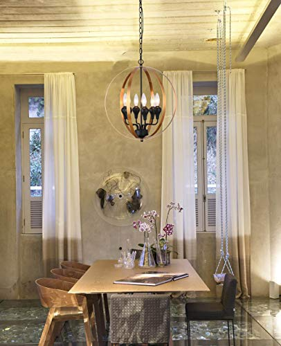 """Alice House 17"""" New Traditional Style Kitchen Chandeliers"""