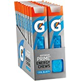 Gatorade Prime Energy Chews, Cool Blue ,6 Count (Pack of 16)