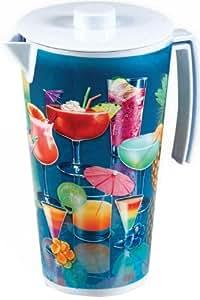 Forum Novelties Hawaiian Luau Party Fruity Mixed Drink Tumbler Cup