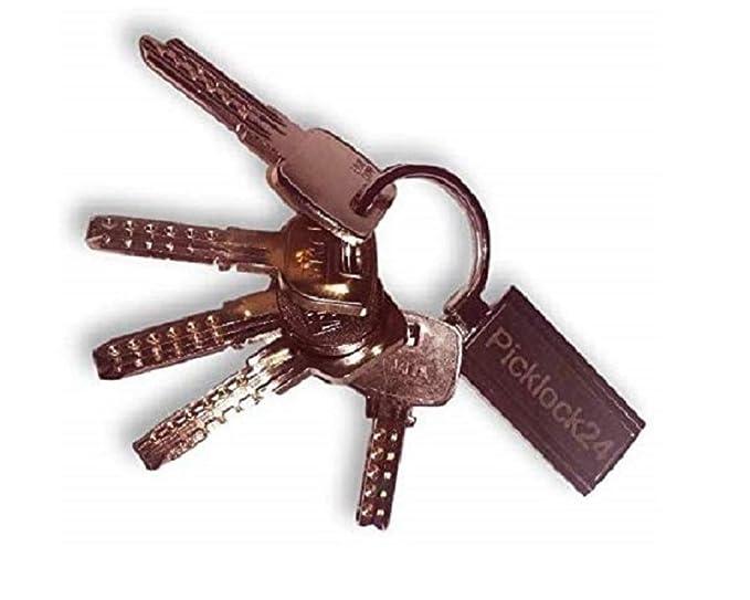 Picklock24 Juego de llaves maestras multipunto válidas para ...