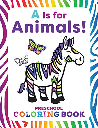 Color By Letter Halloween Coloring Pages (A is for Animals!: Preschool Coloring)
