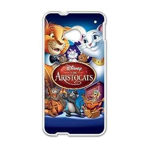 HTC One M7 White phone case Disney Cartoon AristoCats EYB7296451