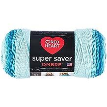 Red Heart Super Saver Ombre Yarn, 10 oz, Scuba