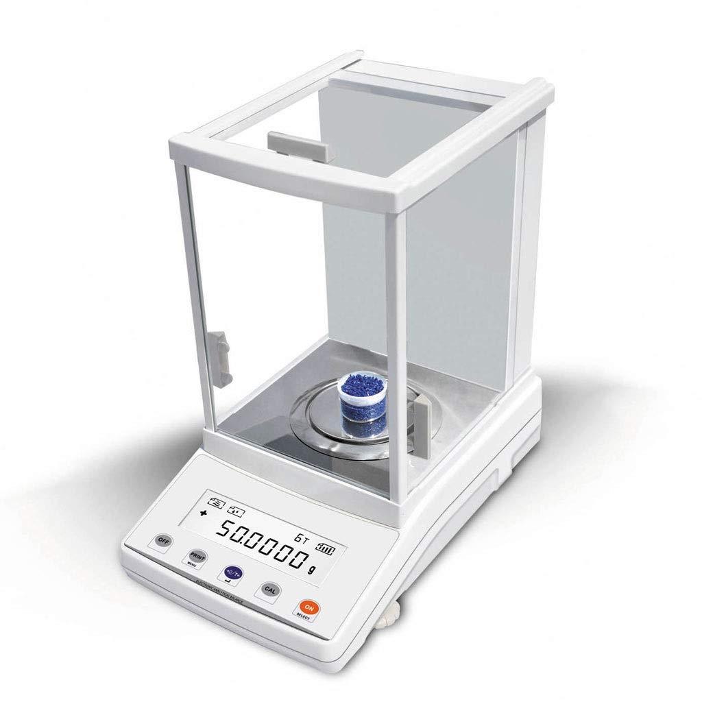 WZ Báscula de Laboratorio 200g / 0.0001g Alta Precisión Balanza de ...