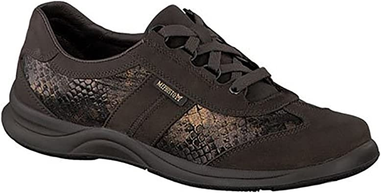 Mephisto Women's Laser Walking Shoe, Dark Brn, Size - 8