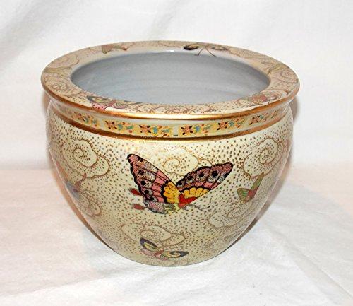Porcelain Fish Bowl - 16