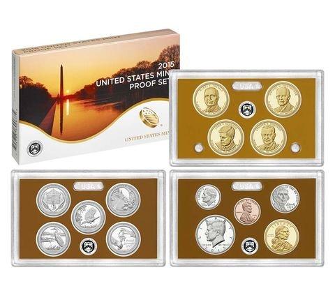 - 2015 S US Mint Proof Set (P17) OGP