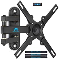 Mounting Dream MD2462 TV Wall Mount Monitor Bracket with Full Motion Articulating Arm for most 26-39 Inches LED, LCD TVs up to VESA 200x200mm and 33 LBS, with Tilt and Swivel