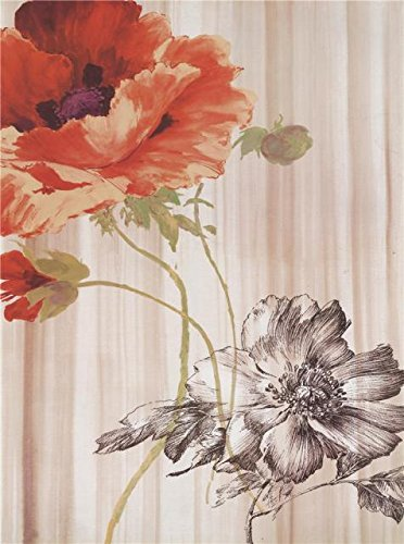 Oil Painting 'Poppies In Full Bloom', 20 x 27 inch / 51 x 68 cm , on High Definition HD canvas prints is for Gifts And Foyer, Gym And Living - Coupon Metals Speedy