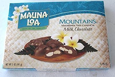 Mauna Loa Mountains Chocolate Covered Macadamia Nuts Multi Pack (5oz boxes)