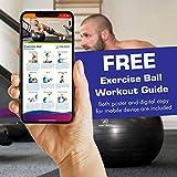 Exercise Ball - Professional Grade Anti-Burst