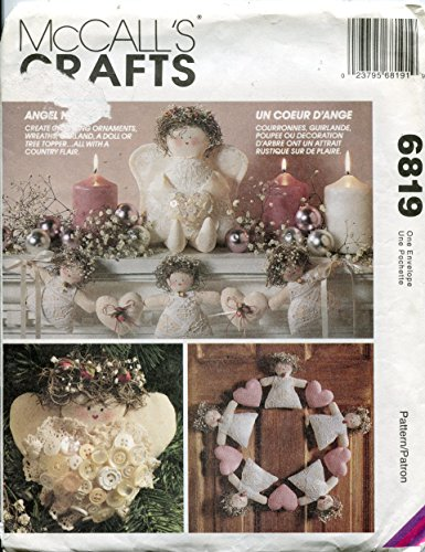 McCall's Crafts 6819 ~ Country Christmas Decor (Pattern Country Doll)