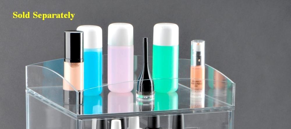 Sale! Glamourebox Clear Acrylic Makeup Organizer 5-Drawer (A5R-K)