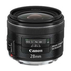 CANON Objetivo EF 28 mm f / 2.8 IS USM + Filtro UV HMC 58 mm - transparente (305804)