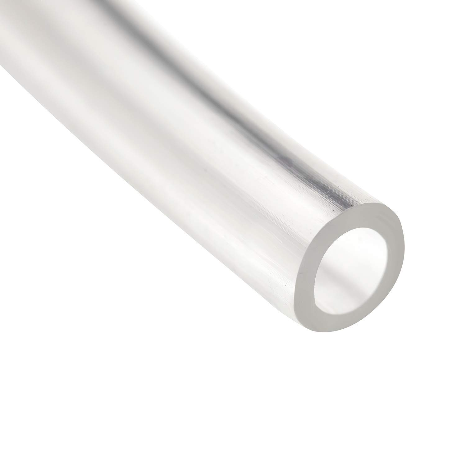 "Houseables Vinyl Tubing, Clear, 1/4"" ID x 3/8"" OD, 100 Ft, Food Grade Tube, PVC Plastic, Flexible Hose, Flex Pipe For Water, Beverage Pump, Homebrew, Wine Siphon, Brewing Bottling Wand"