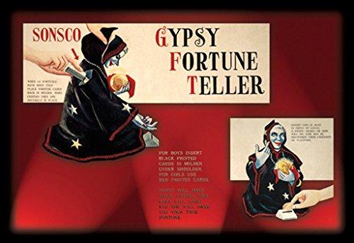 ArtParisienne Gypsy Fortune Teller No. 1 12x18 Poster