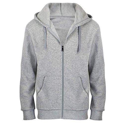 Big And Tall Drawstring Sweatshirt - Gary Com Hoodies for Men Midweight Fleece Full Zip Autumn Outwear Long Sleeve Active Jackets Sports Sweatshirts Big and Tall