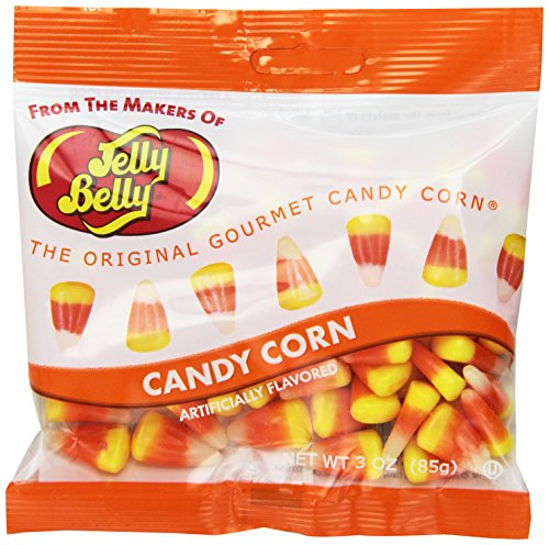 Candy Corn Treat Bags - Jelly Belly Candy Corn, 3-Ounce Bags (Pack of 12)