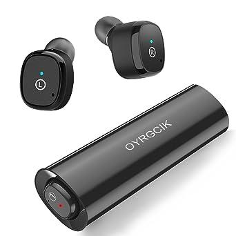 Review Wireless Earbuds, OYRGCIK Bluetooth