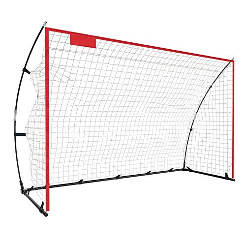 Yuebo Portable Soccer Goal Net裏庭、12 x 6 ft/6 x 4 ftサッカーBow Net子供&大人with Carryバッグ B07BCD657J 6x4 Ft 6x4 Ft